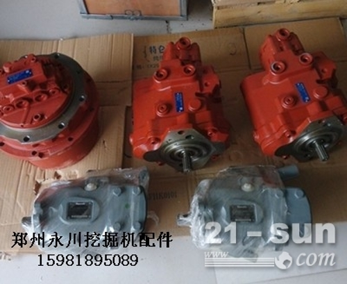 A10VO63LA8DS液压泵总成及配件郑州永川挖掘机配件1...