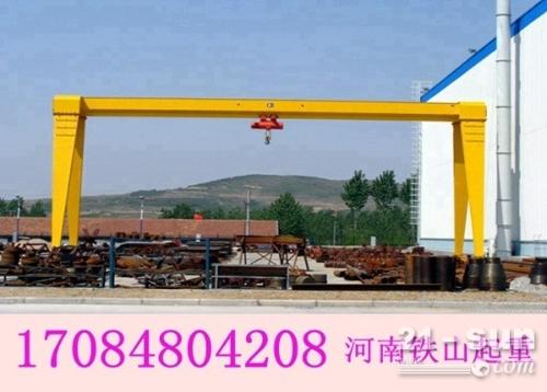 教您电动葫芦选购标准 贵州贵阳龙门吊出租厂家