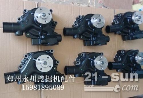 康明斯B3.3发动机启动马达发电机水泵机油泵郑州永川挖掘机配件15981895089