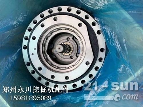 柳工933、936行走马达减速机总成及配件郑州永川挖掘机配件...