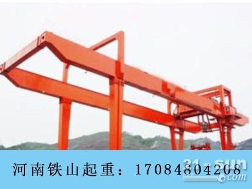 重庆轮胎式集装箱起重机销售厂家防风措施