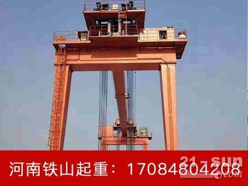 重庆60吨轮胎式起重机厂家 双梁轮胎吊引进新工艺