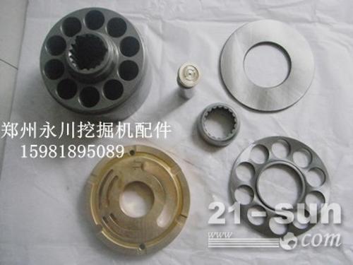 斗山55、60液压泵配件缸体柱塞配油盘15981895089...