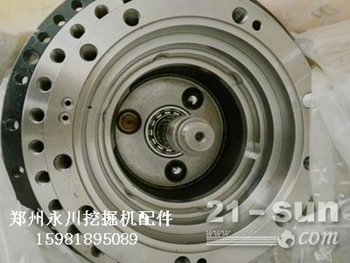 三一335走马达减速机总成及配件郑州永川挖掘机配件15981...