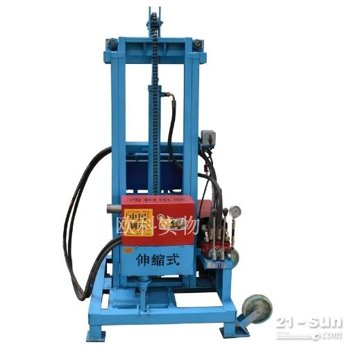 小型轮式水井钻机Y-600履带式气动水井钻机