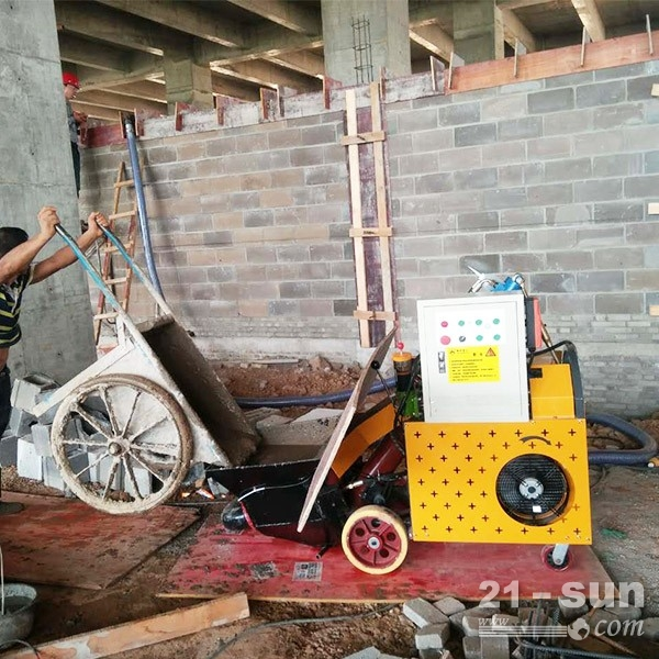二构混凝土泵液压泵-检查十分重要