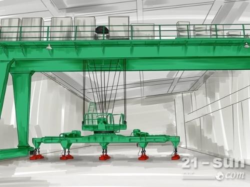 陕西西安龙门吊出租厂家80吨设备在重庆