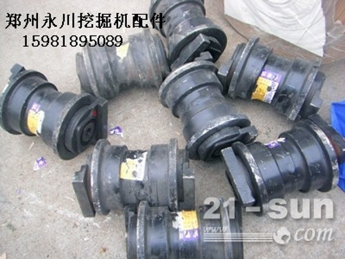 沃尔沃55支重轮托链轮引导轮驱动齿郑州永川挖掘机配件1598...