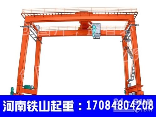 云南大理轮胎门式起重机厂家 60吨集装箱龙门吊