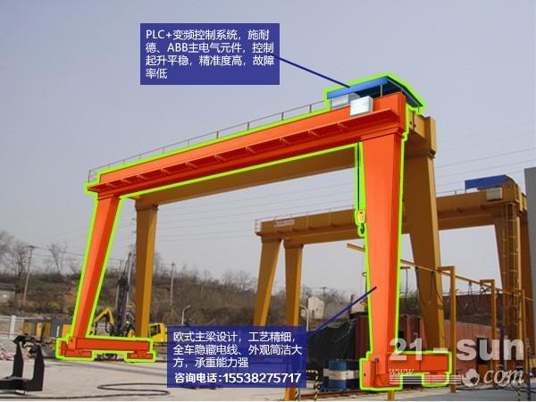 贵州贵阳龙门吊出租10吨电磁吊