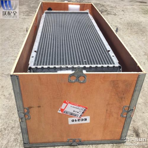沃尔沃 EC210BP新款水箱 铝塑 14549879
