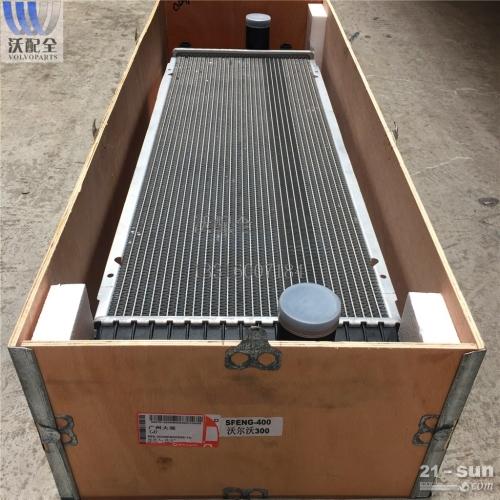沃尔沃 EC300D新款水箱 铝塑 1724008