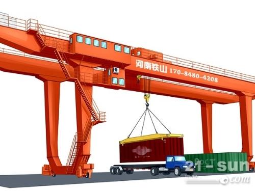 龙门吊工作原理 重庆轮胎式集装箱起重机厂家