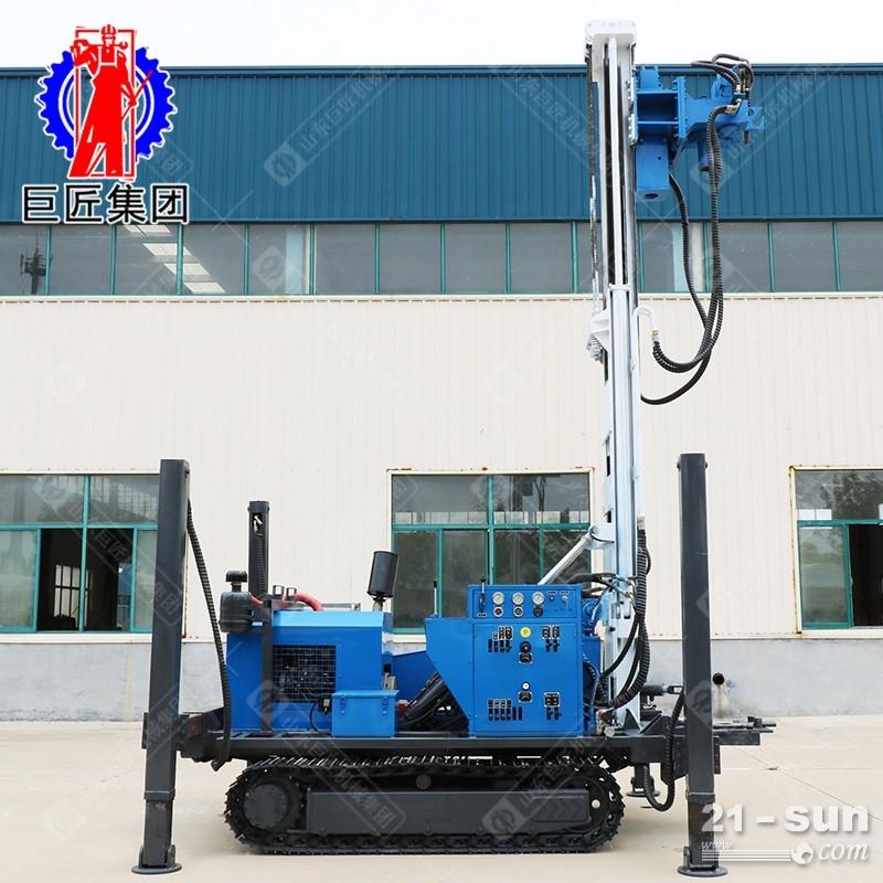 履带式环保取土钻机 液压直推式双管取土