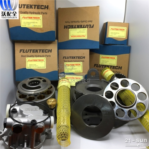 沃尔沃 EC210 240 K3V112DT 液压泵泵胆 柱...