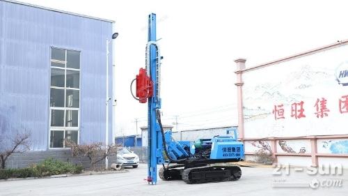 HWZG-600L履带压桩机恒旺光伏按桩机液压压桩机