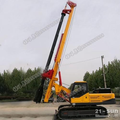 履带式旋挖钻机 供应大口径履带旋挖机
