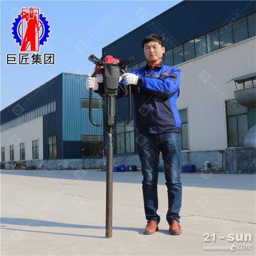 华夏巨匠QTZ-1便携式土壤取样钻机地质勘探环境检测取土设备