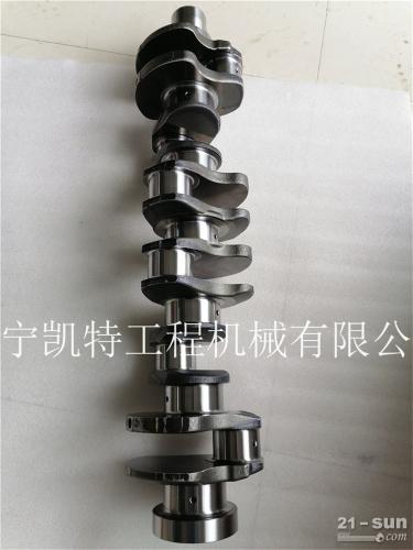 小松原装PC300-7发动机曲轴 挖掘机配件