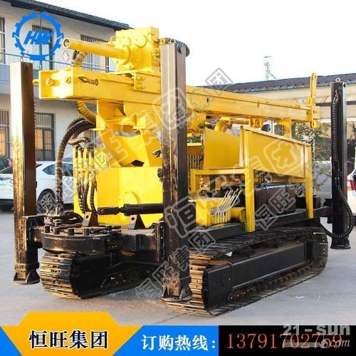 打井机HQZ-400L钢履带气动水井钻机
