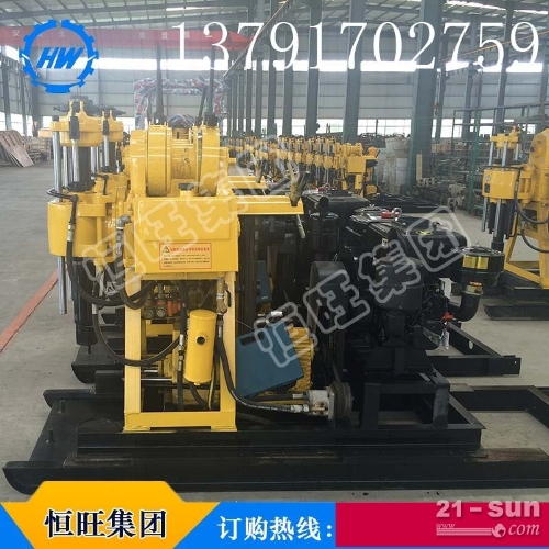 HW-190高速取芯钻机 柴油地质勘探钻机