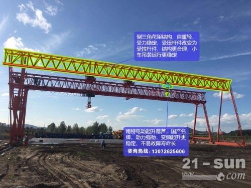四川眉山龙门吊销售厂家10吨龙门吊客户青睐