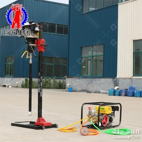 立式背包钻机30米轻便岩心钻机 便携式