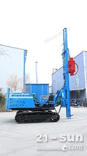 7功率强大经久耐用恒旺HZY-800L履带式长螺旋打桩机