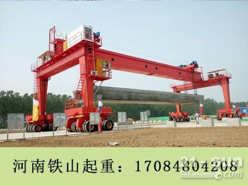 江苏无锡轮胎门式起重机直销 30吨电动葫芦报价