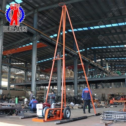 30米砂金探矿钻机SH30-2A工程勘察钻机浅层沙土取样钻机
