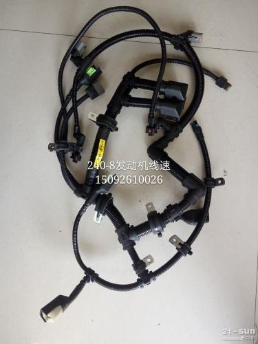 小松挖掘机配件 小松PC240-8发动机线束