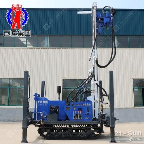 HBZ-1履带式环保钻机30米 液压直推式取土钻机