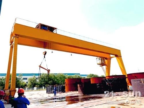 湖南益阳10吨30米龙门吊出租现货五台