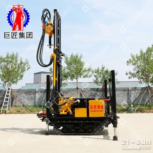 巨匠供货履带式潜孔钻机CJDX-160气动水井钻机钻井设备