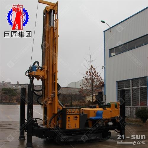 300米钢履带式气动钻机CJD-300型潜孔钻车效大型深井钻井机