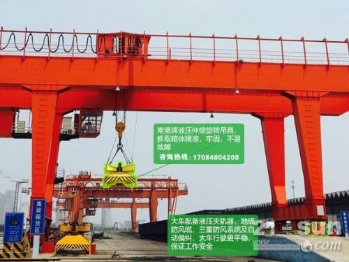 云南昭通轮胎式集装箱起重机厂家直销80t龙门吊