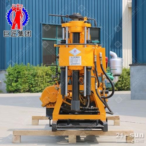 液压岩心钻机 130米岩心取样钻机 百米地勘钻机
