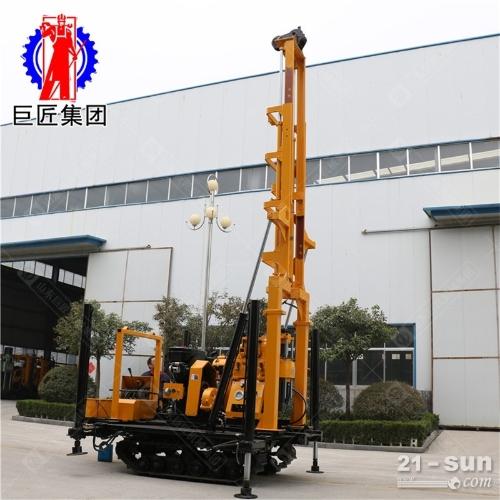 履带液压水井钻机200米深水井打井机1.6米液压高支腿装车方便