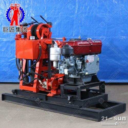 100型液压取芯钻机巨匠牌xy-100型地质勘探钻机