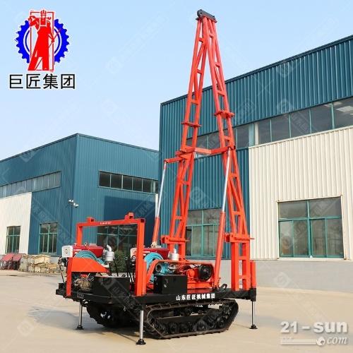 履带式30工程勘察钻机 30米砂金矿取样钻机