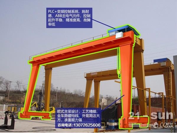 广东梅州龙门吊出租厂家造船龙门吊跨度30m以内