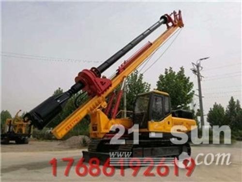 履带旋挖打桩机 生产出售机缩杆旋挖钻机