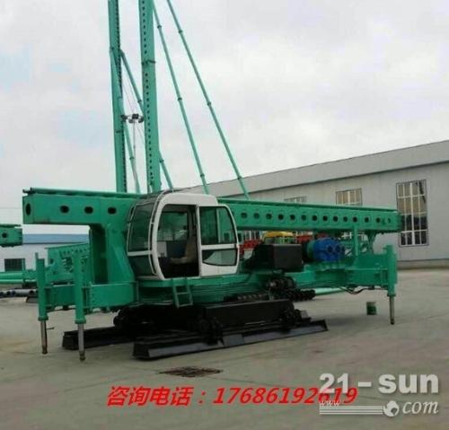 长螺旋打桩机 8米12米可定制 CFG长螺旋打桩机型号生产厂家