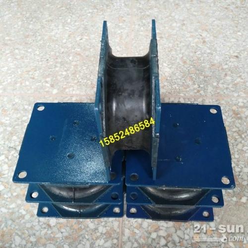 徐工压路机胶块 双钢轮减震器 胶墩