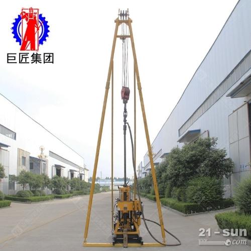 可移机液压百米钻机200型勘探岩心钻机200米地质钻机