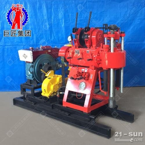 全自动打井机钻井机200米液压水井钻机xy200打井设备