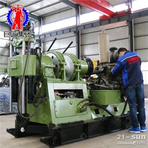 千米液压钻机XY-44A型勘探岩心钻机大功率取样钻机
