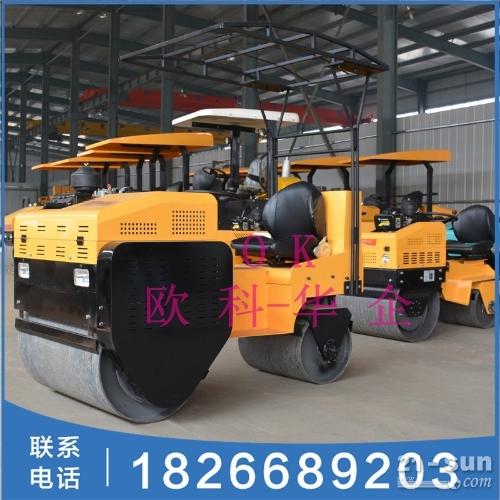 钢轮大单轮柴油压土机 座驾式1吨2吨3吨压路机