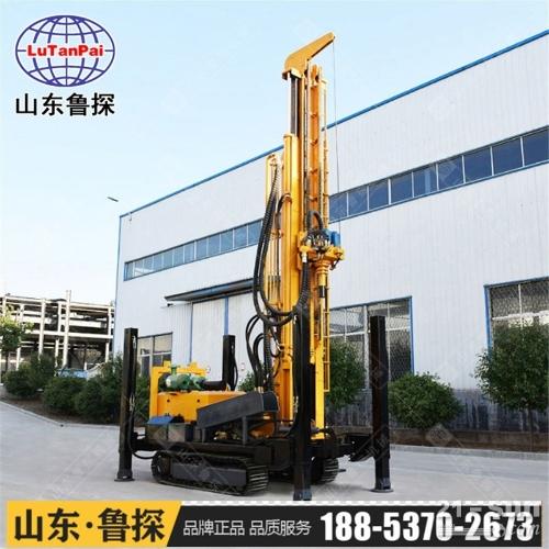 鲁探机械CJD-500履带式气动水井钻机