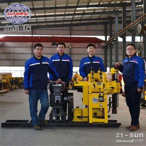 山东鲁探HZ系列130款液压水井钻机 百米深度打井机